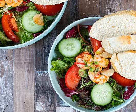 Salade gamba's