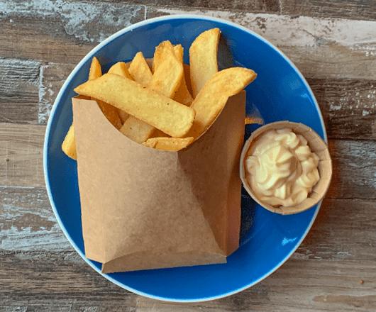 Frietjes met mayonaise