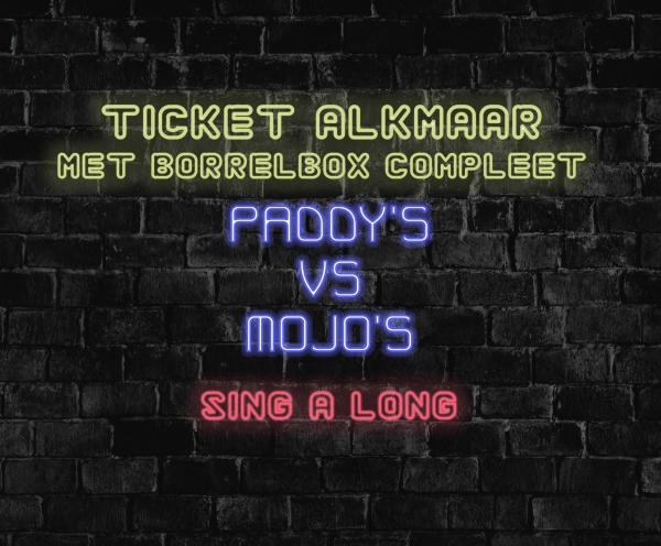ticket alkmaar borrelbox compleet
